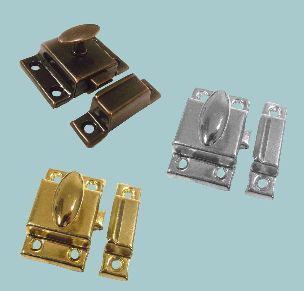 cabinet door lock 1 x traditional metal cupboard cabinet door thumb turn 12816