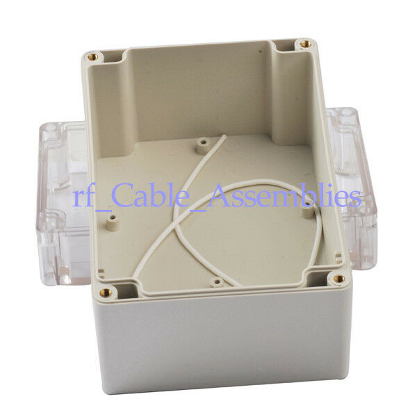 Waterproof Clear Cover Plastic Electronic Project Box