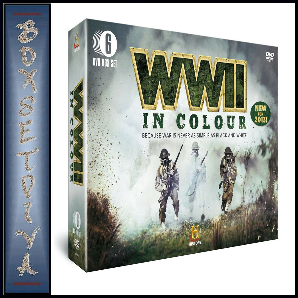 WORLD WAR 2 - IN COLOUR - 6 DVD - 186.4KB