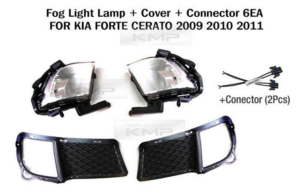 kia forte headlight plug wiring oem genuine parts fog lamp light cover connectors for kia ... 3 prong headlight plug wiring diagram #9