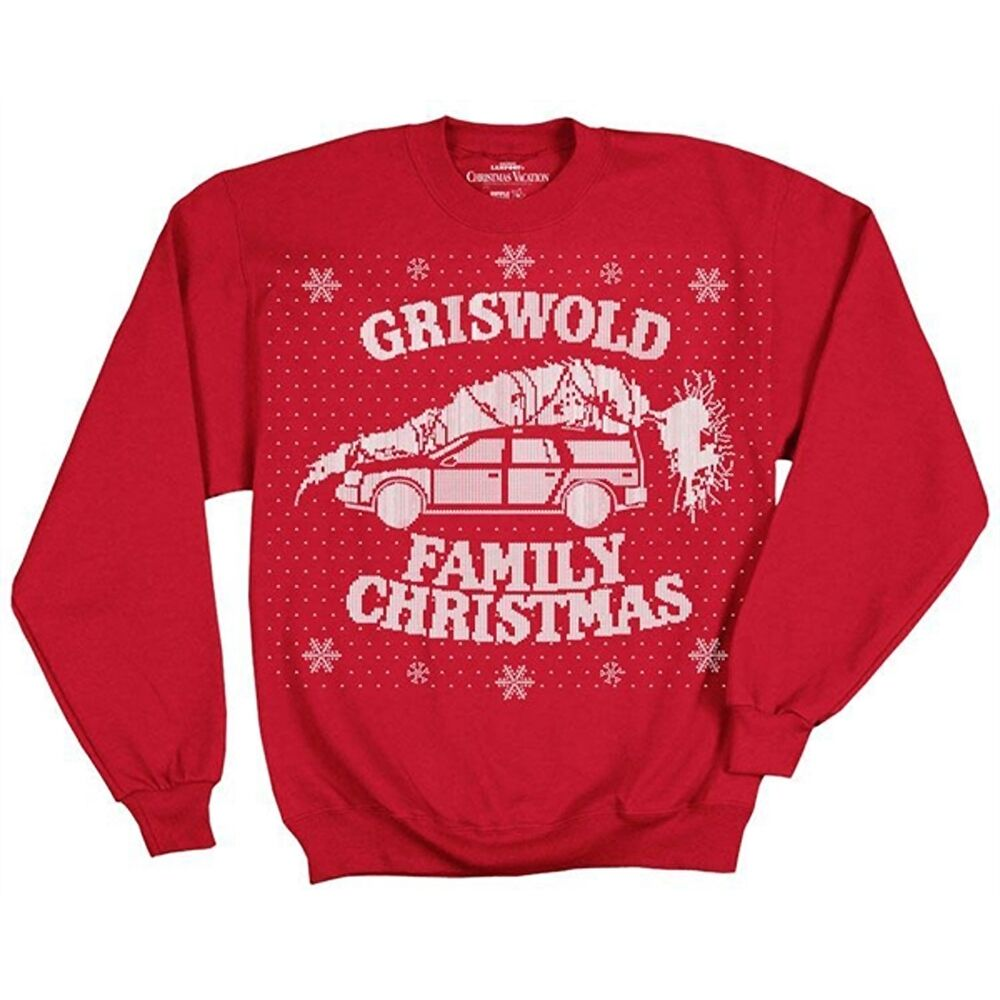 We have a variety of National Lampoon's Christmas Vacation Movie Sweatshirts & Hoodies and hoodies to fit your fashion needs. Tell the world how you feel or rock a funny saying with your outerwear. National Lampoon's Christmas Vacation Movie Sweatshirts & Hoodies and hoodies are great gifts for any occasion.