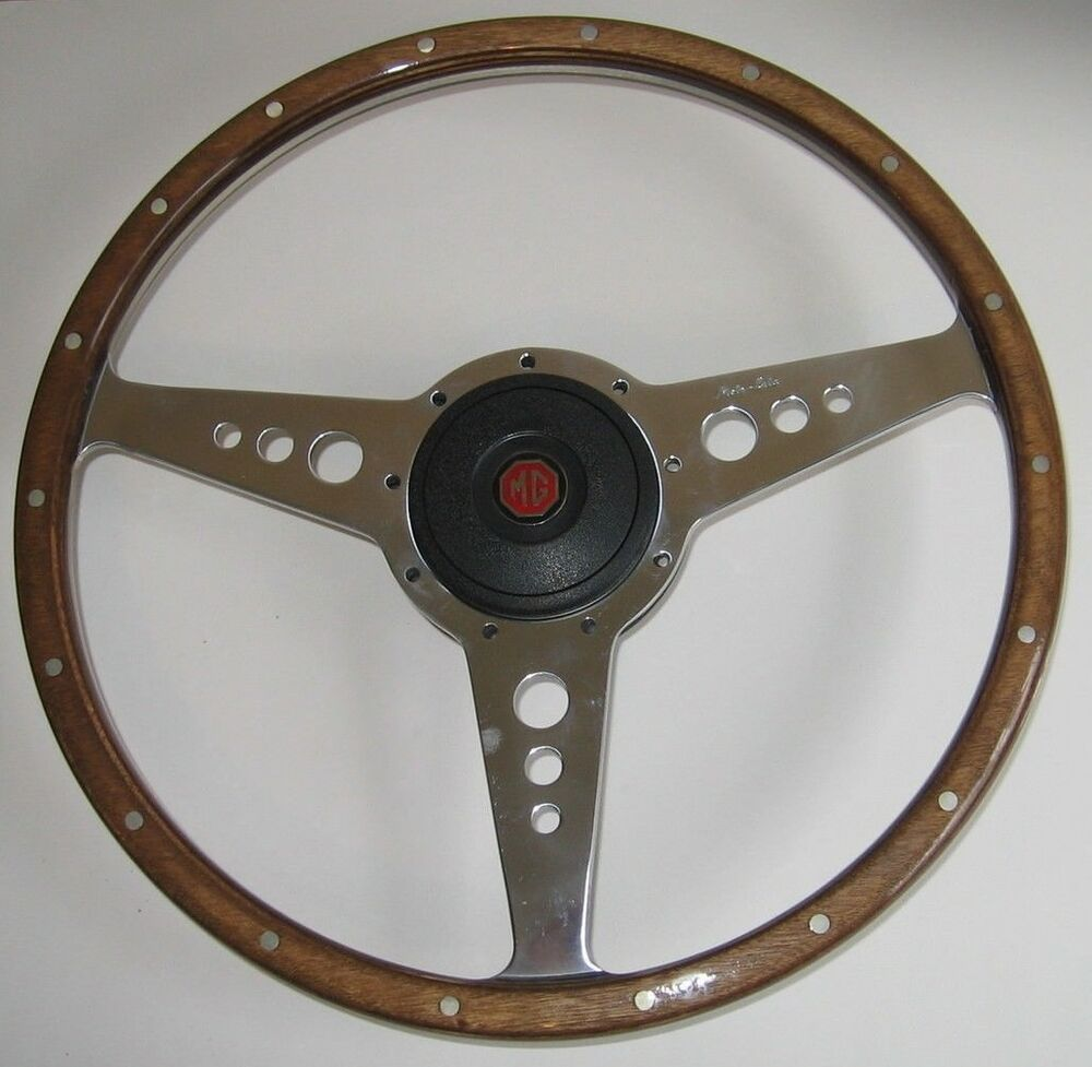 Video gives mg midget steering wheel such