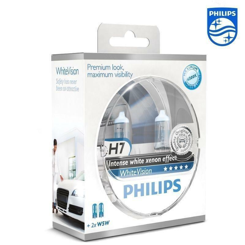 2 ampoule h7 w5w philips intense white xenon vw golf 4 5. Black Bedroom Furniture Sets. Home Design Ideas