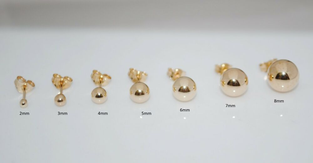 carissima on ball earrings fashionosm mm rose accessories fashion at shop gold stud sale