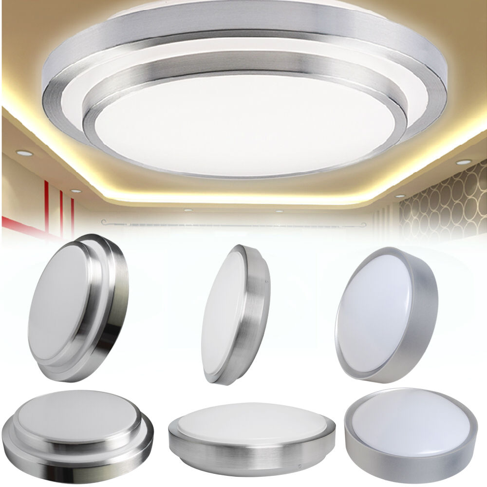 Modern 7w 12w Led Flush Mounted Ceiling Down Light Wall Kitchen Bathroom Lamp Ebay
