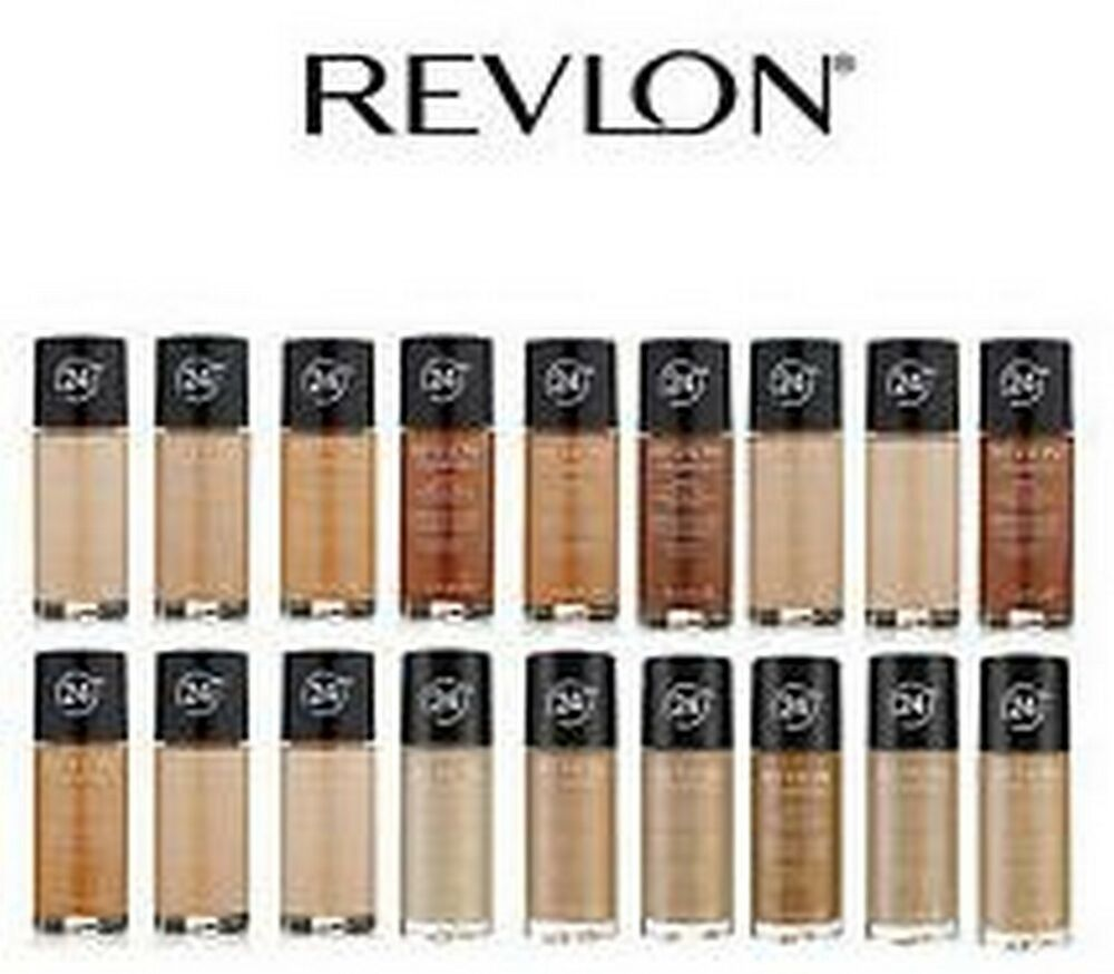 Revlon Colorstay Foundation Tan / lvory / Natural / Beige / Buff ...