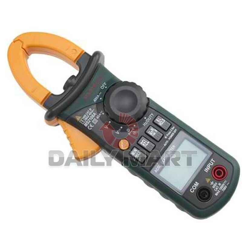 Ac Dc Clamp Meter : Mastech professional ms a non t rms ac dc current