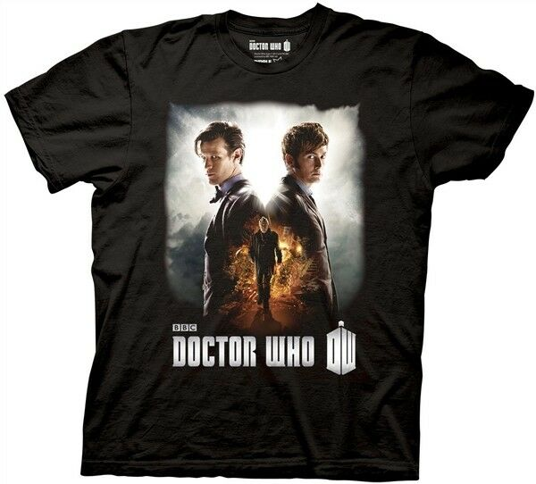 doctor who day of the doctor poster image adult tshirt