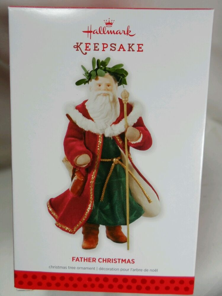 2013 Hallmark Keepsake Ornament Father Christmas #10 in ...