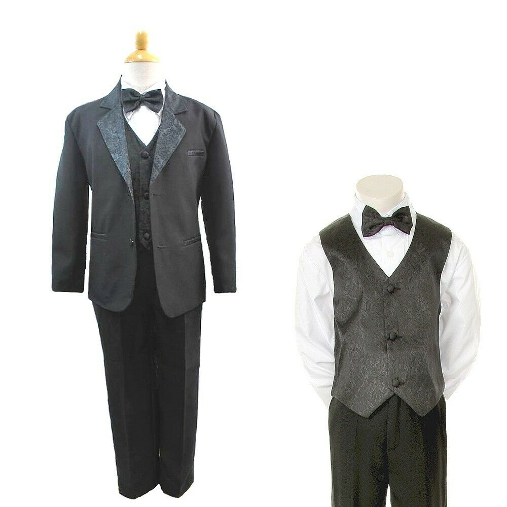 New Boys Children Formal Tuxedo Communion Baptism Church