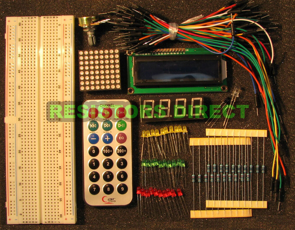 Electronic project starter kit e basic arduino beginners