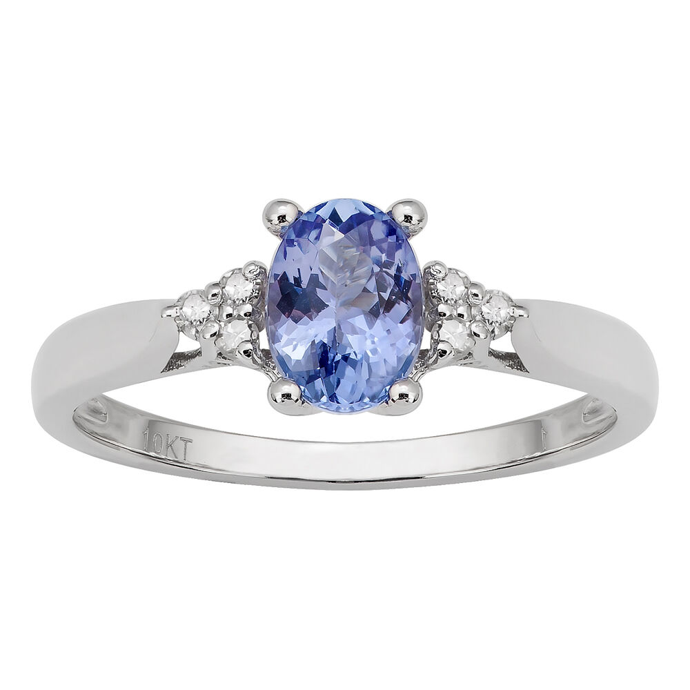 10k White Gold Genuine Blue Sapphire And Diamond Ring (18. Quote Wedding Rings. Cream Rings. Belly Rings. 0.16 Carat Engagement Rings. Interesting Wedding Rings. Portrait Rings. Composite Wedding Rings. Winston Engagement Rings