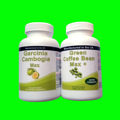 90 Garcinia Cambogia Pure Extreme Detox Plus 30 Green Coffee Bean Extract | eBay