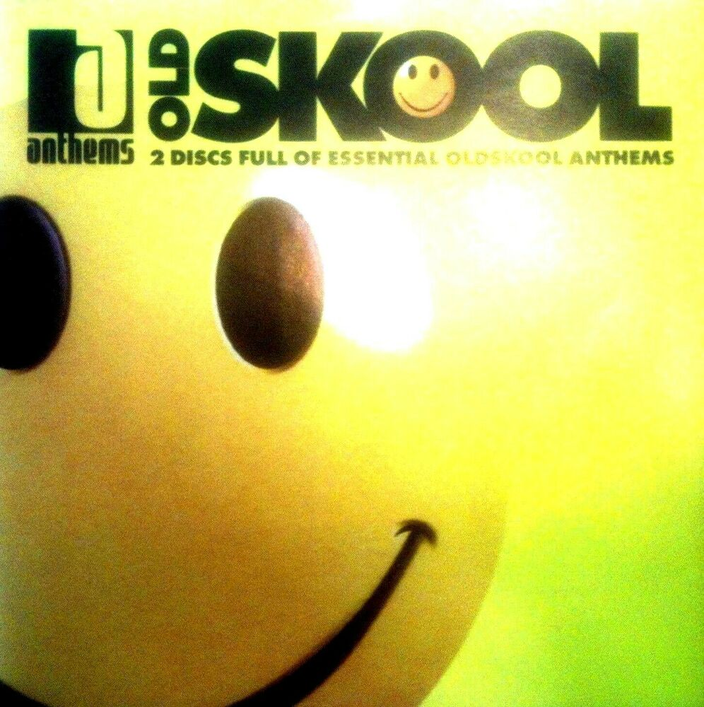 Oldskool anthems 2 x cds unmixed tracks rave oldskool 90s for 90s house anthems