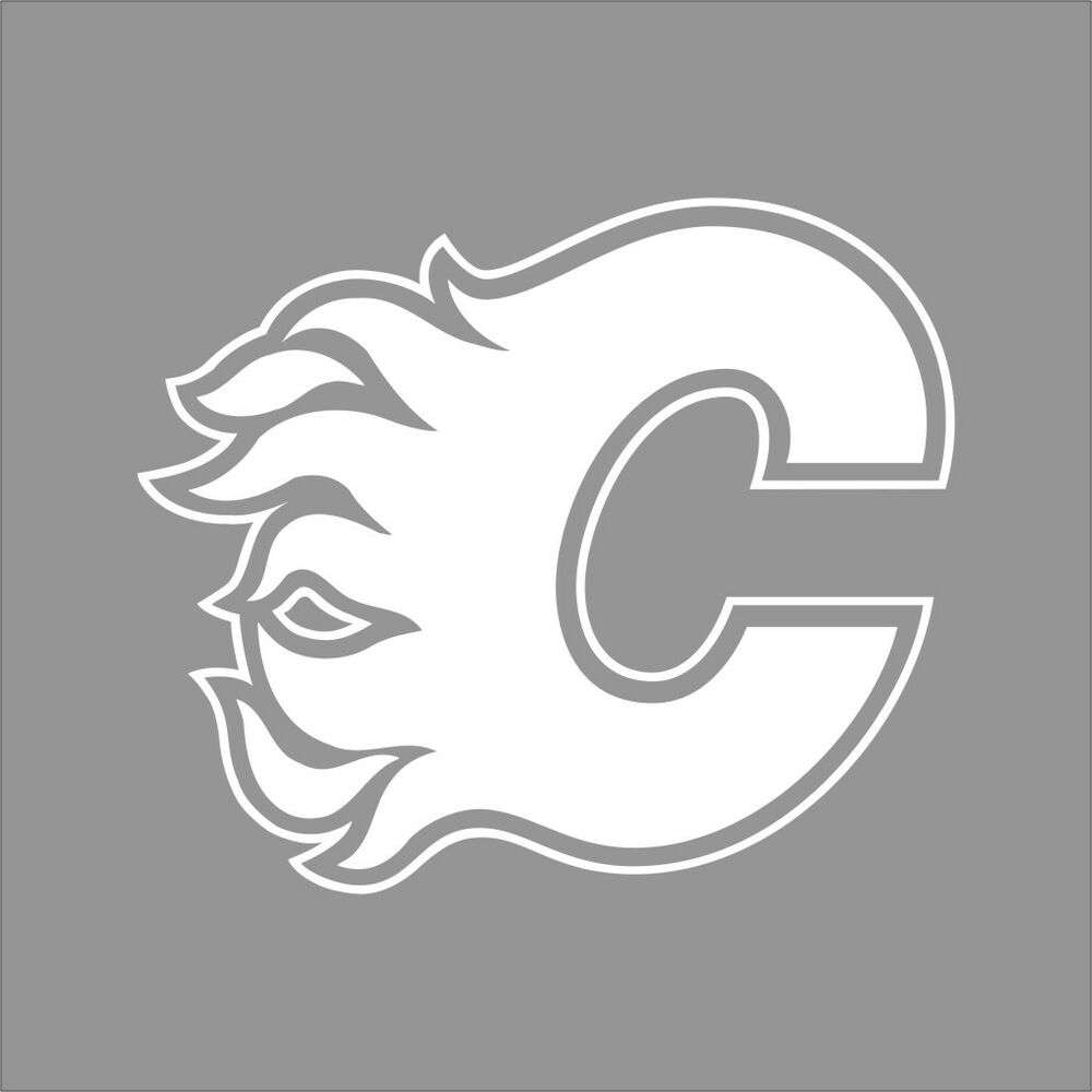 calgary flames logo coloring pages - photo#12