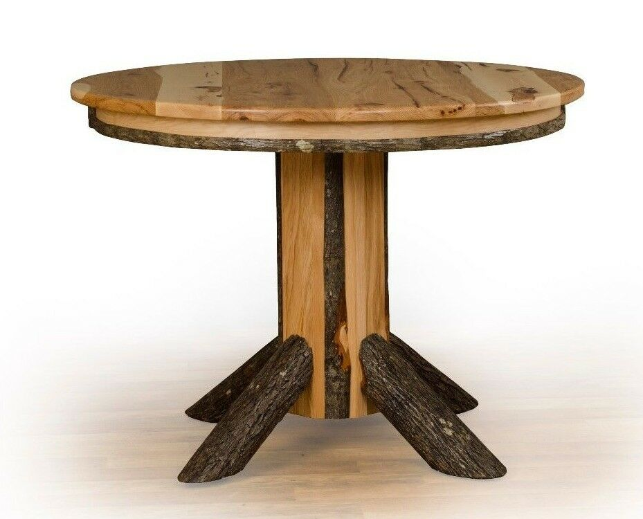 round wood dining table ebay gallery