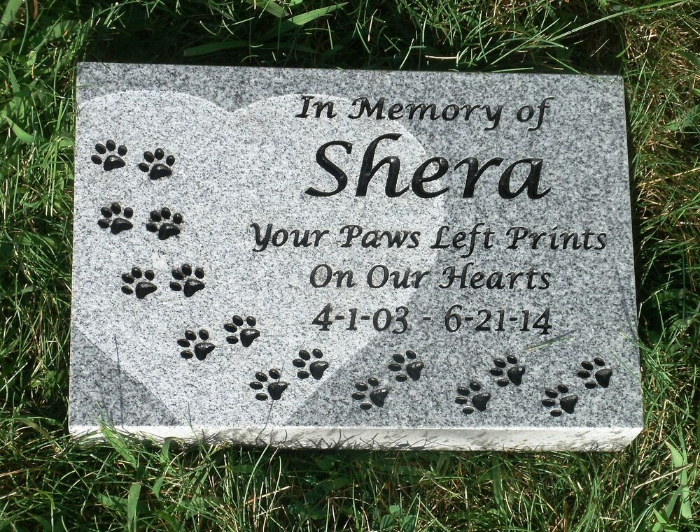 Dog And Cat Tombstone