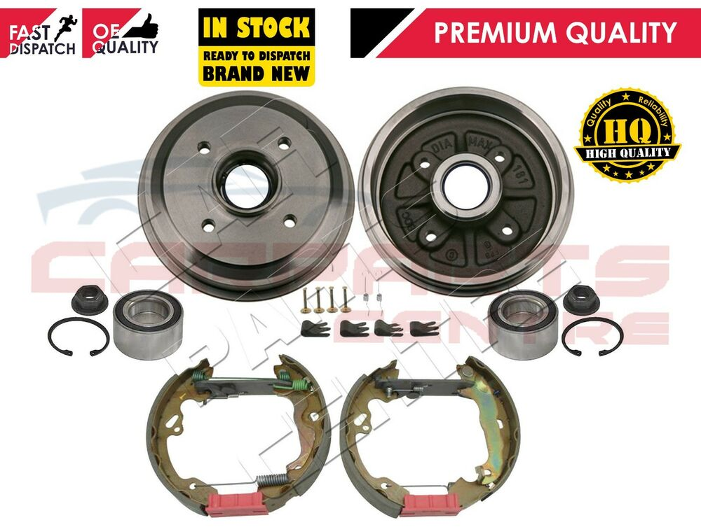 for ford focus mk1 rear brake drums bearings brake shoes. Black Bedroom Furniture Sets. Home Design Ideas