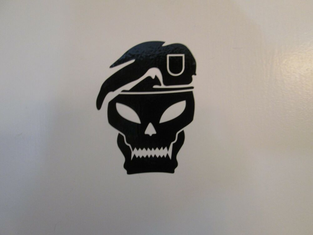 Call Of Duty Black Ops Cod Skull Vinyl Decal Sticker Many