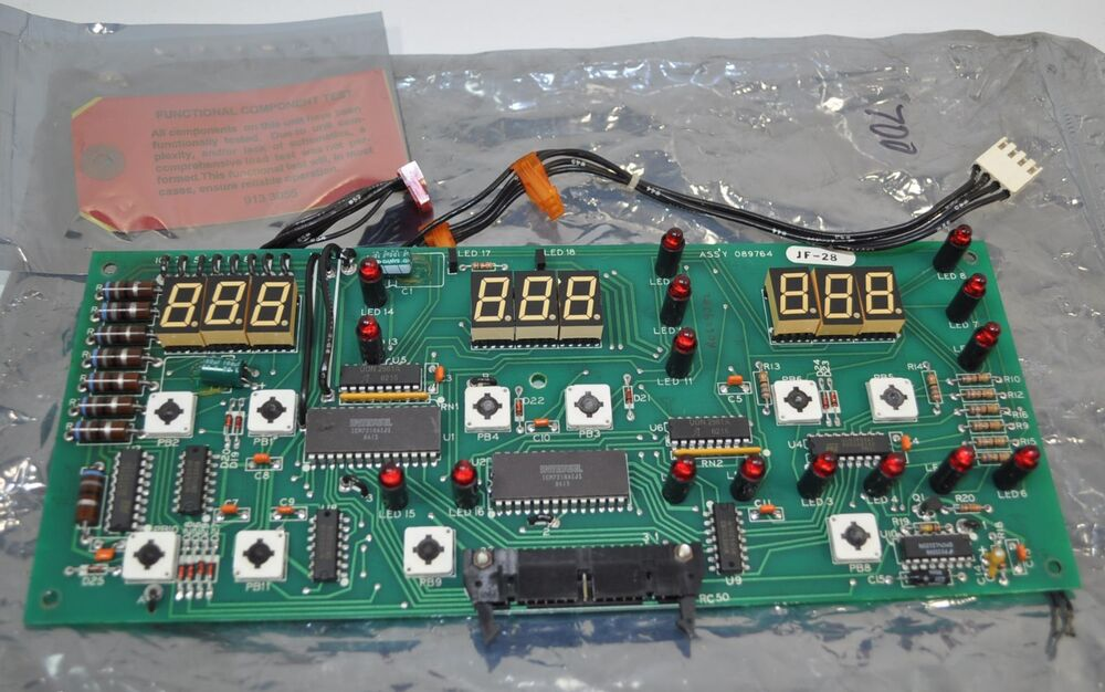 Circuit Card Assembly : Miller welder display circuit board card assembly