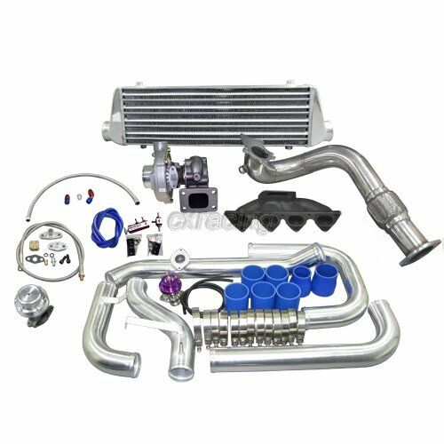 manifold turbo intercooler kit for civic ek with b16 b18 b series engine ebay