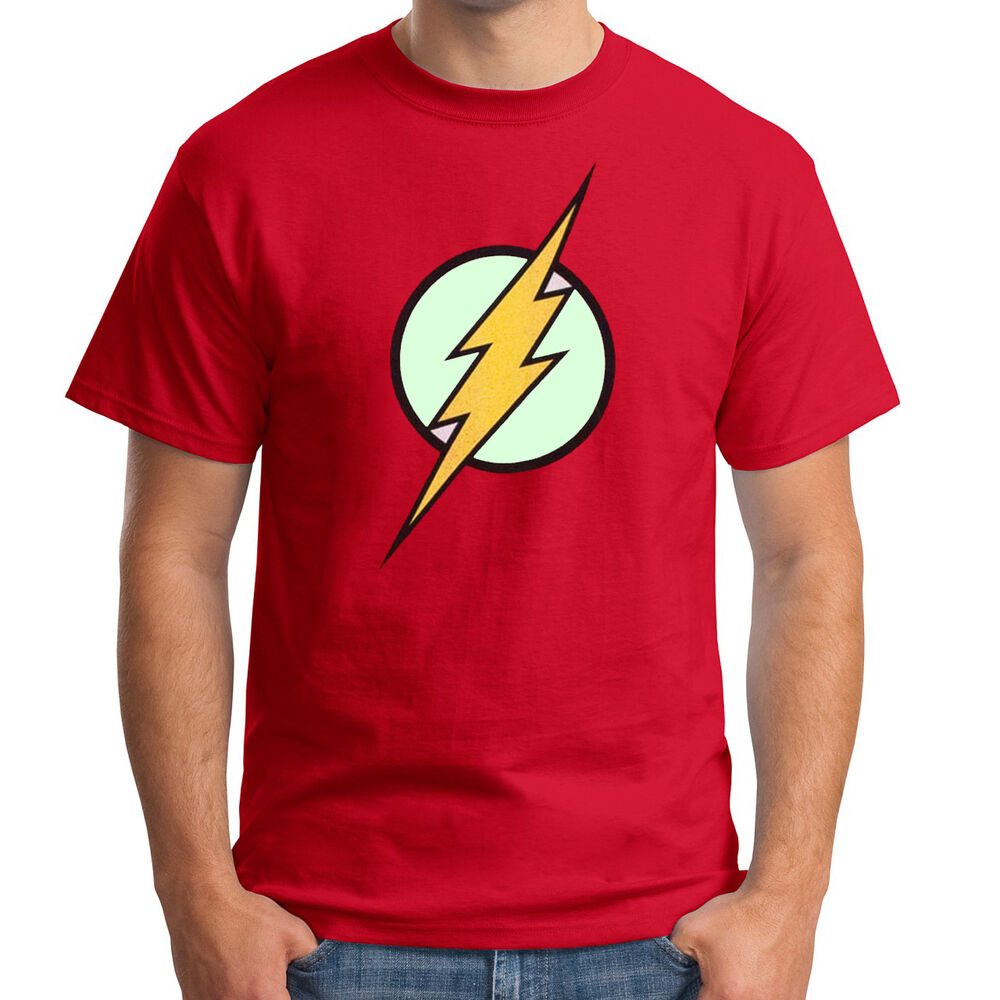 the flash glow in the dark premium t shirt comic book. Black Bedroom Furniture Sets. Home Design Ideas