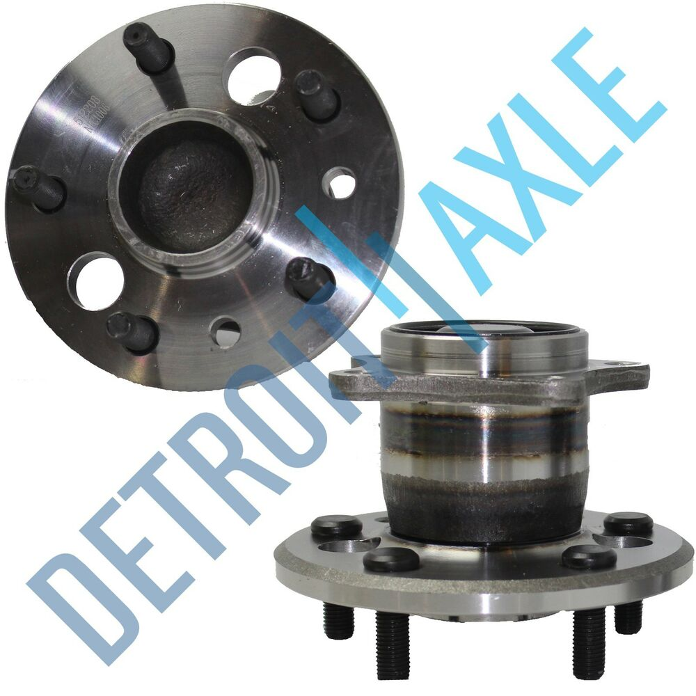 2019 Toyota Camry Hub Bearing Assembly Rear Axle Left: (2) Rear Wheel Bearing Hubs For 2002 2003 2004 2005 Toyota