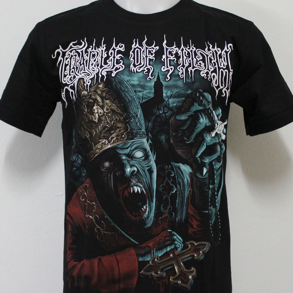 cradle of filth metal t shirt 100 cotton new size s m l. Black Bedroom Furniture Sets. Home Design Ideas