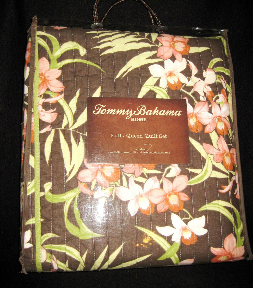 Full Queen Tommy Bahama Tropical Island Del Sur