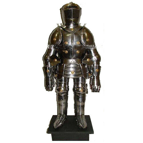 Mini medieval suit of knights armor for home office for Armor decoration