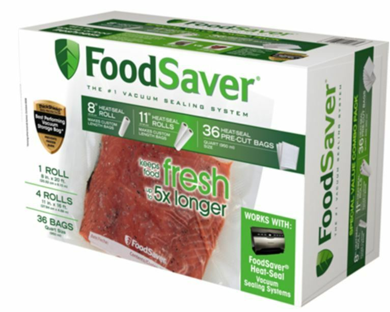 Genuine Foodsaver Brand Vacuum Seal Sealer Combo Pack Bags