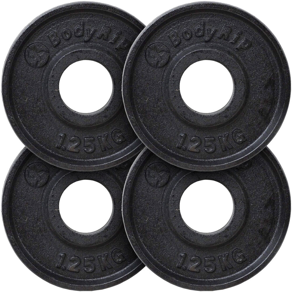 Bodyrip Cast Iron 1 Quot Hole Weight Plates Discs Weights