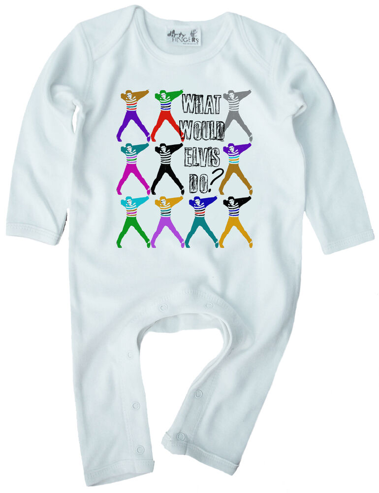 Dirty Fingers Baby Romper suit Playsuit esie What would