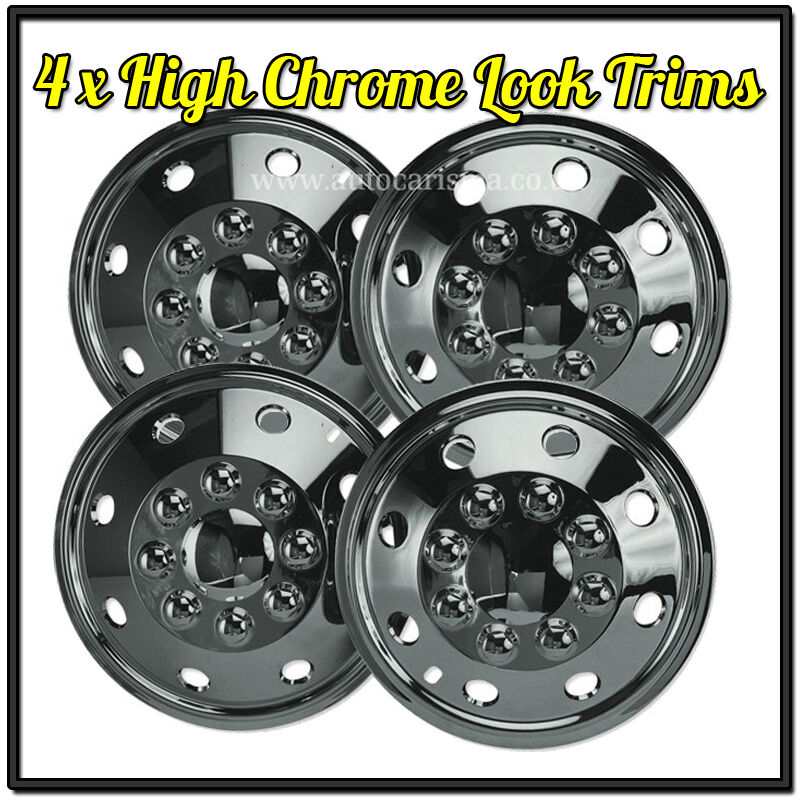 Mercedes sprinter 15 chrome wheel trims van american for Mercedes benz sprinter wheel covers
