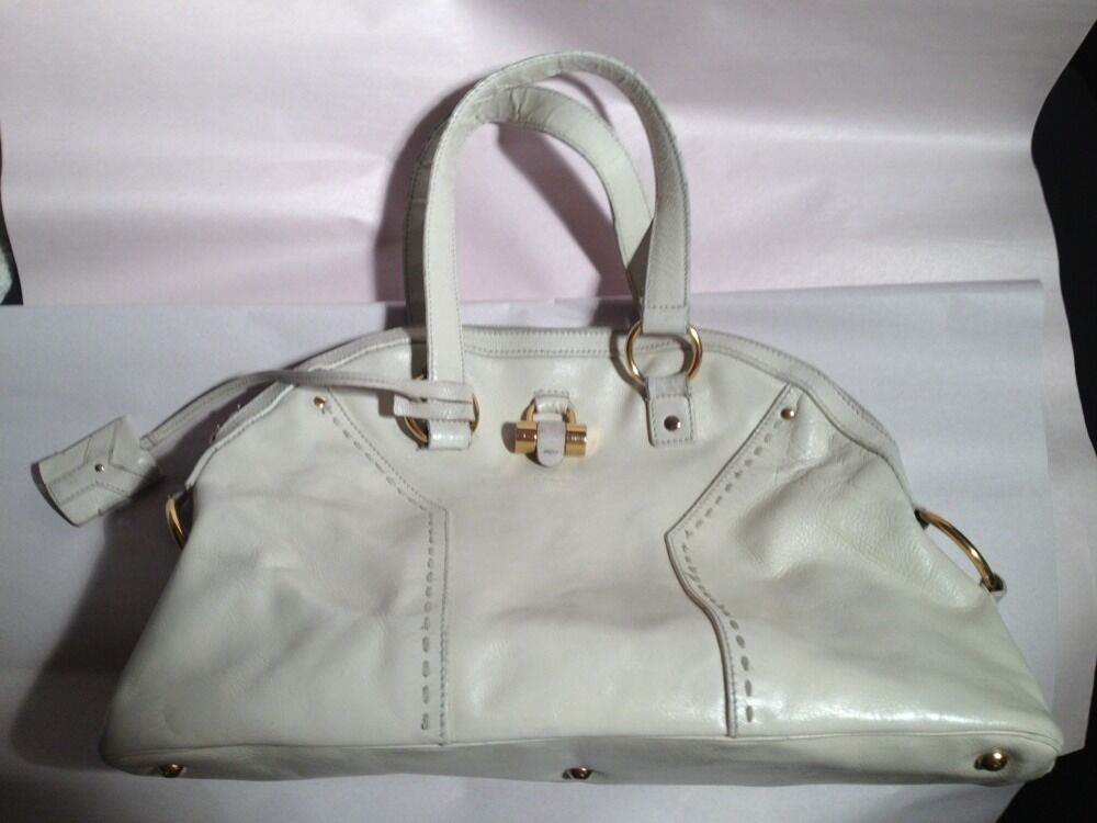 Pre Owned Authentic Ysl Yves Saint Laurent Large Muse