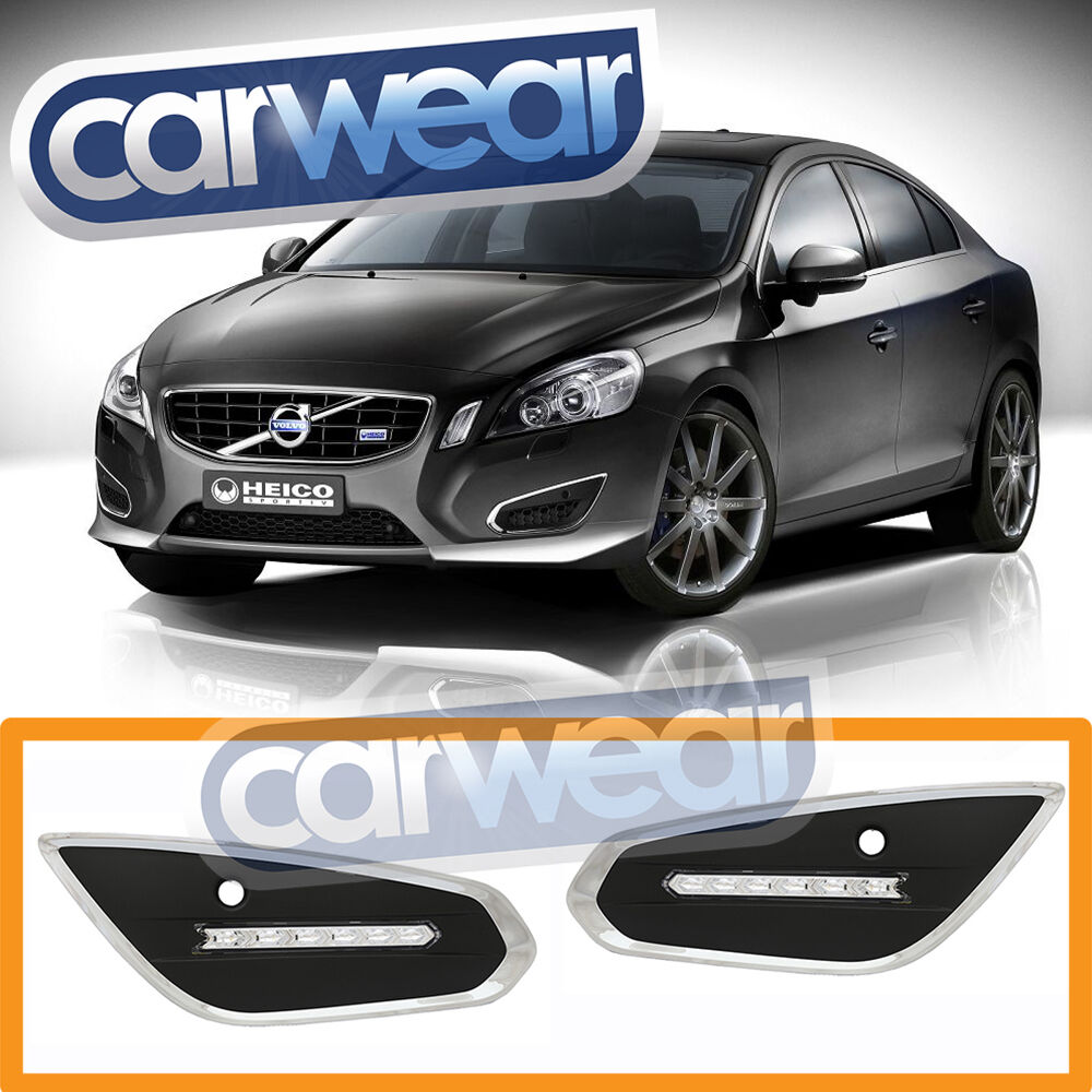 VOLVO S60 T5 2010-2012 LED DRL DAY TIME RUNNING LIGHT ASSEMBLY | eBay