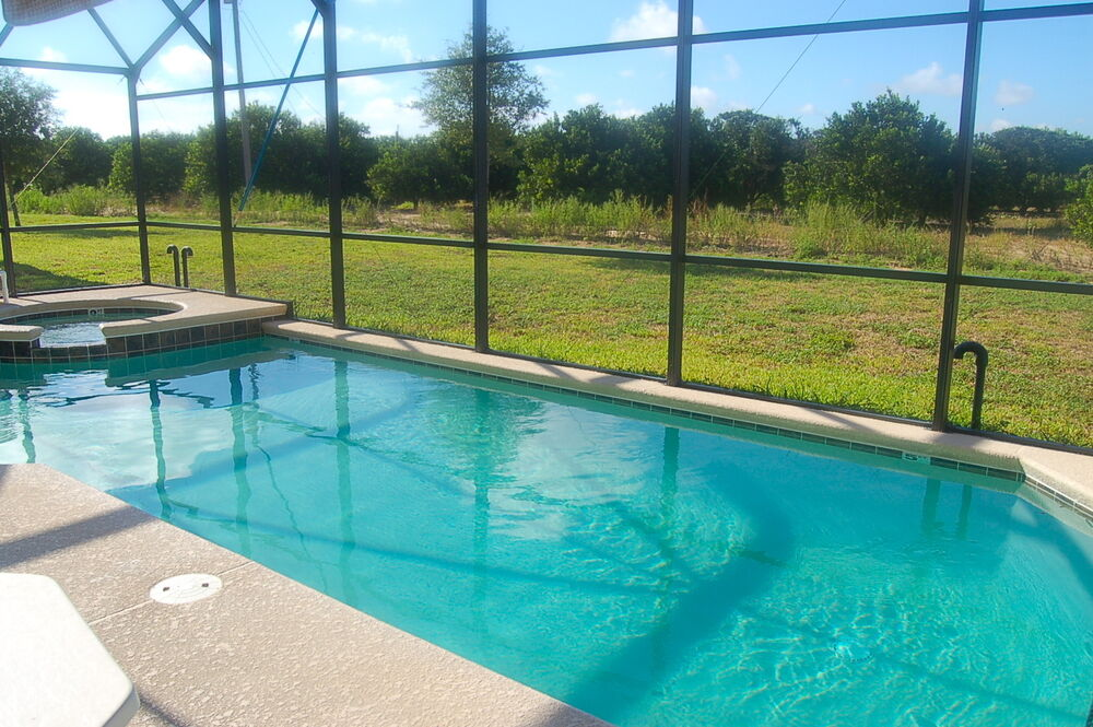 406 5 Bedroom Vacation Rental Villa With Pool Spa In Gated Community Florida Ebay