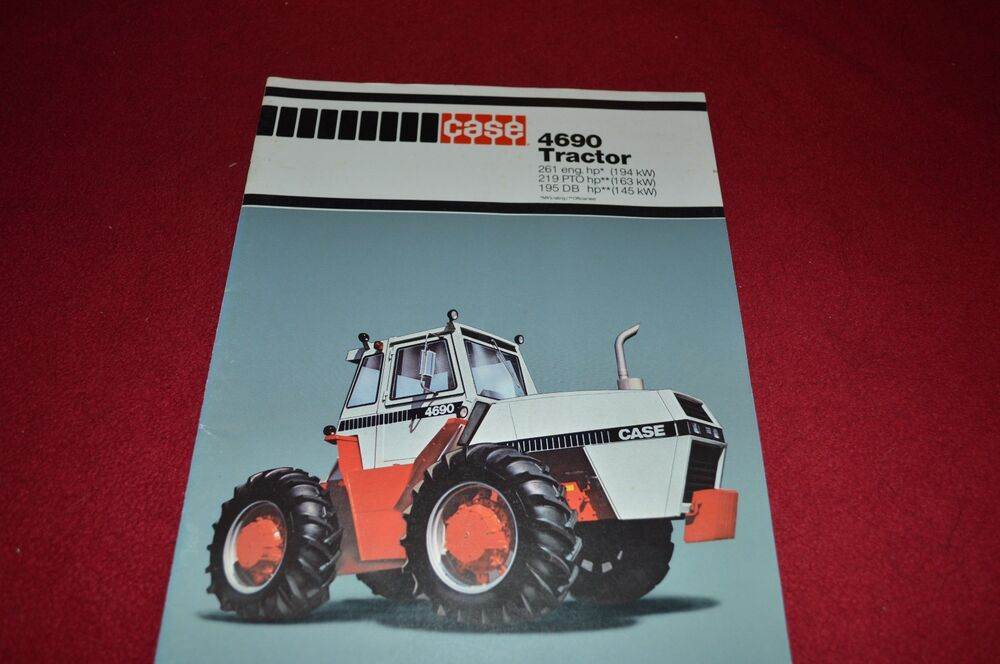 Case Tractor Showroom : Case tractor dealer s brochure mtin ebay