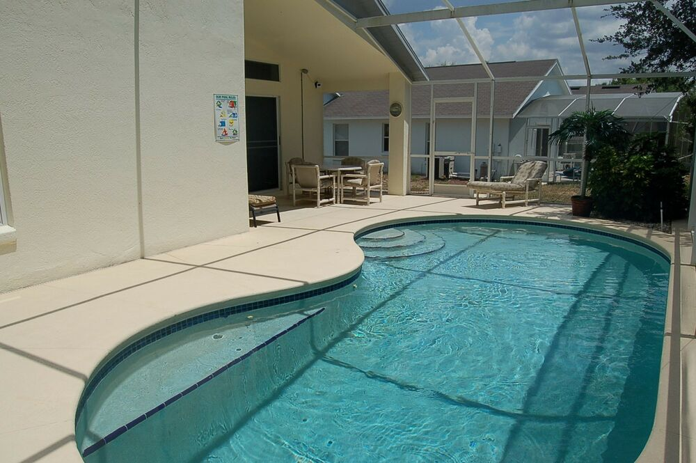 225 3 Bedroom 2 Bath Rental Holiday Home With Pool Near Disney Orlando Florida Ebay