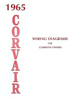 s l1000 1965 corvair wiring diagram manual ebay 1965 corvair wiring diagram at aneh.co