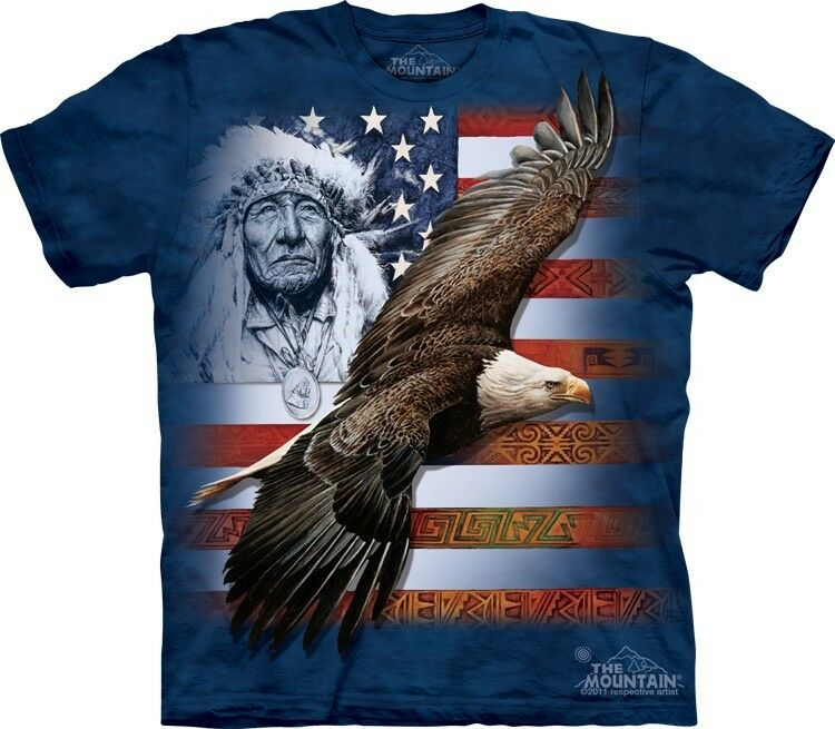 Spirit of America T-Shirt by The Mountain Eagle Native ...