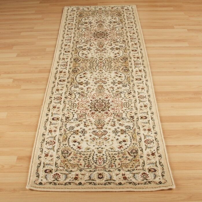 Cream Beige Traditional Persian Oriental QUALITY Rug