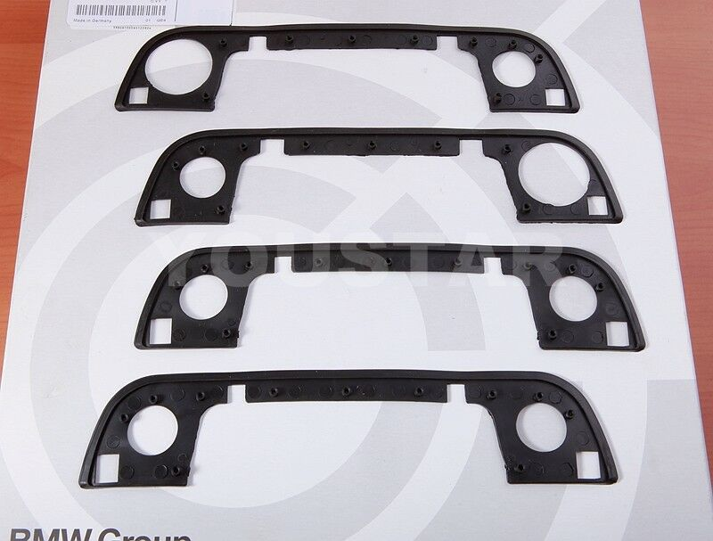 Uk Stock Set X4 Door Handle Rubber Seal Gaskets For Bmw