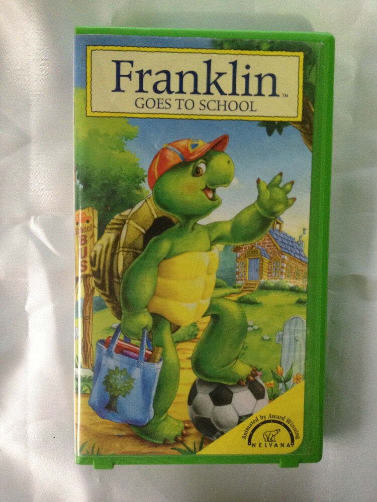 franklin goes to school rare vhs video as new 44005984934 ebay. Black Bedroom Furniture Sets. Home Design Ideas
