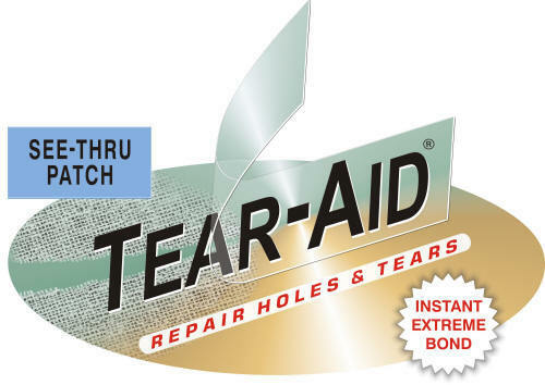 Tear Aid Patch Kit Bulk Roll Type A For Canvas Sunbrella