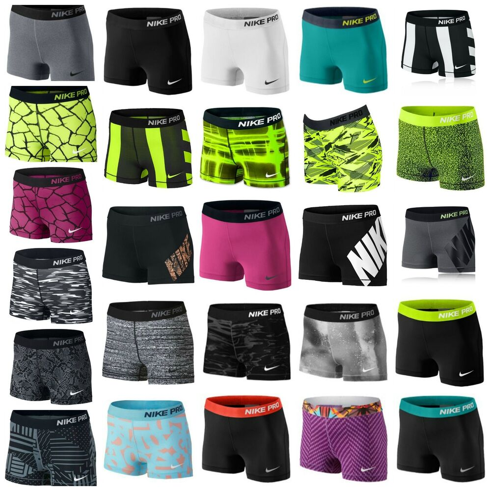 new nike womens pro 3 inch compression shorts 2 5. Black Bedroom Furniture Sets. Home Design Ideas