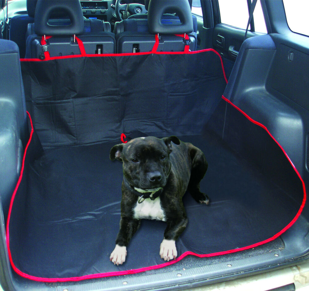 universal pet car boot liner mat water resistant protecter dogs mud tools ebay. Black Bedroom Furniture Sets. Home Design Ideas