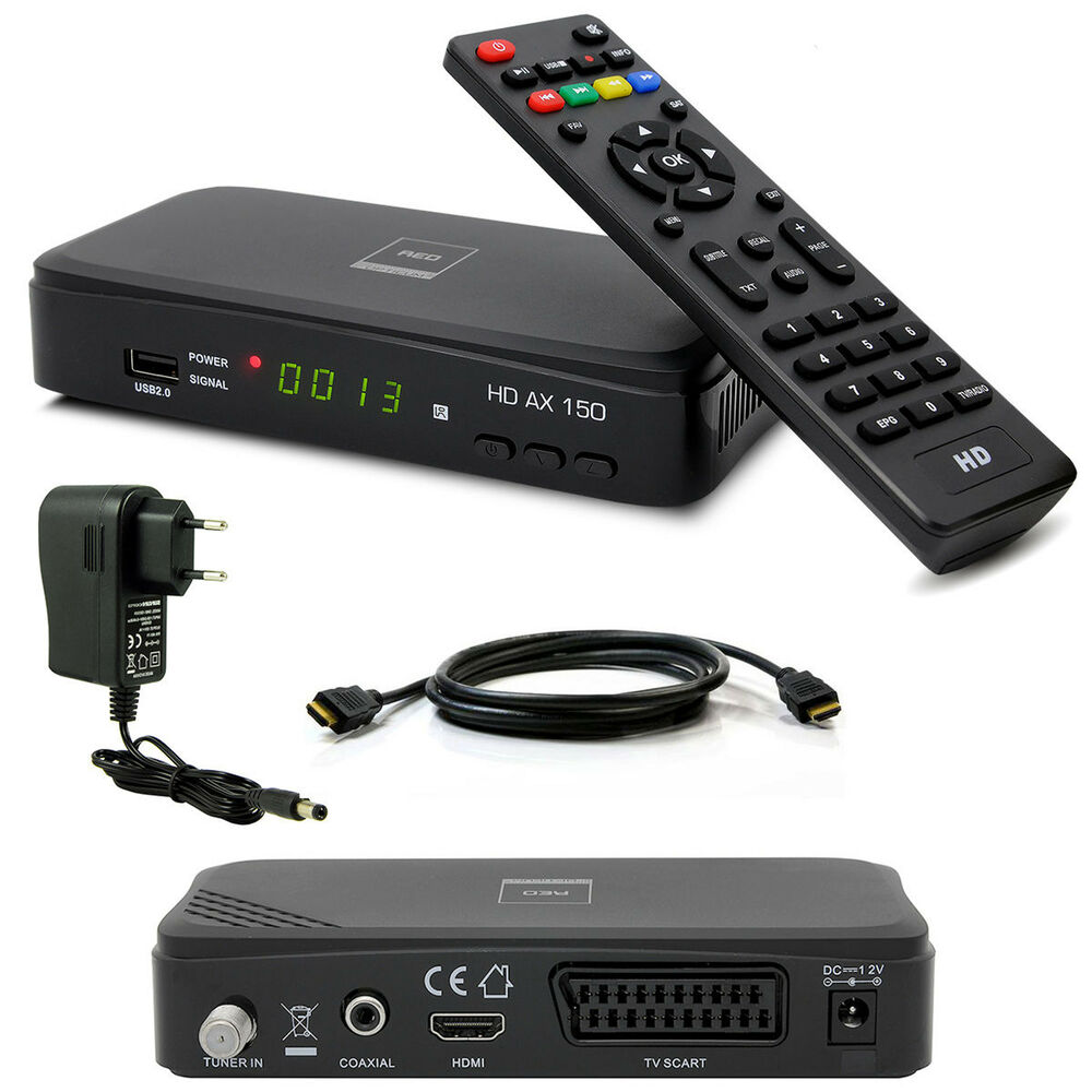 hdtv hd full digital sat receiver opticum ax150 ax 150 hdmi dvb s2 1080p usb s60 ebay. Black Bedroom Furniture Sets. Home Design Ideas