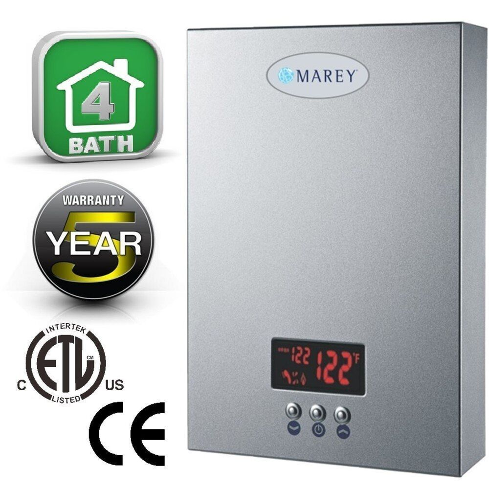Marey Electric Tankless Water Heater Eco240 220v 240v