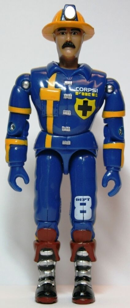 Lanard Corps Emergency Action Rescue Firefighter Blue
